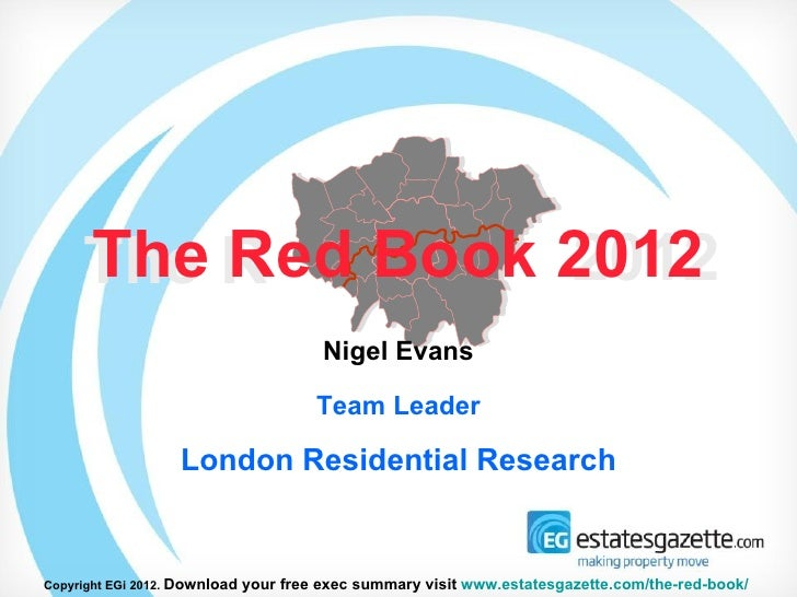 London Residential Development: The Red Book 2012 headlines