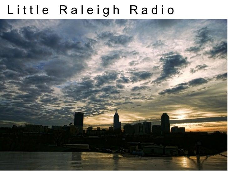 Little Raleigh Radio First Steps