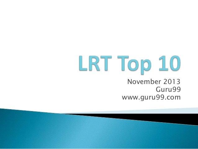 November 2013 Guru99 www.guru99.com