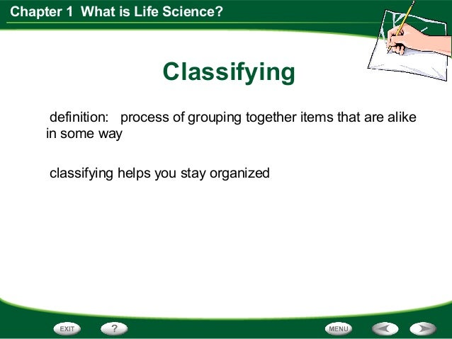science meaning of life Biology is unique among the sciences in being perhaps the only field in which  there is no general agreement on the object of its study.