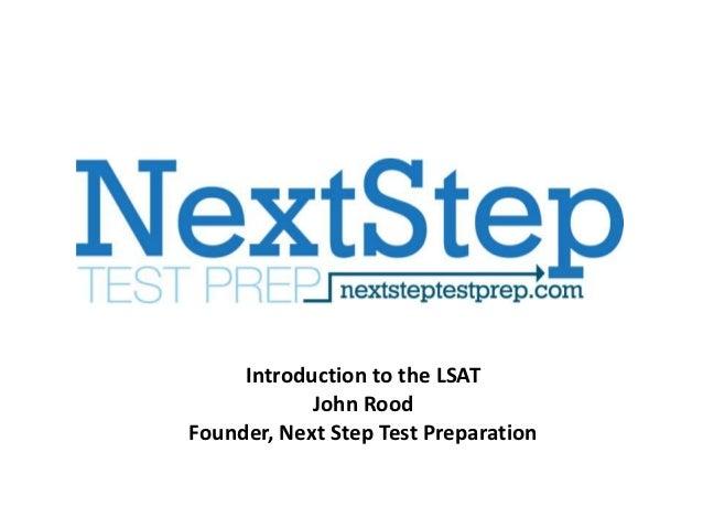 LSAT Strategies -- Next Step Test Preparation