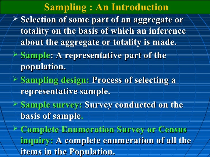 convenience sampling in research methodology