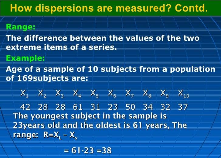 measures of dispersion in statistics pdf