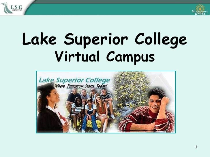 Lake Superior College Virtual Campus