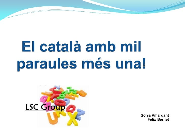 LSC Group Presentation