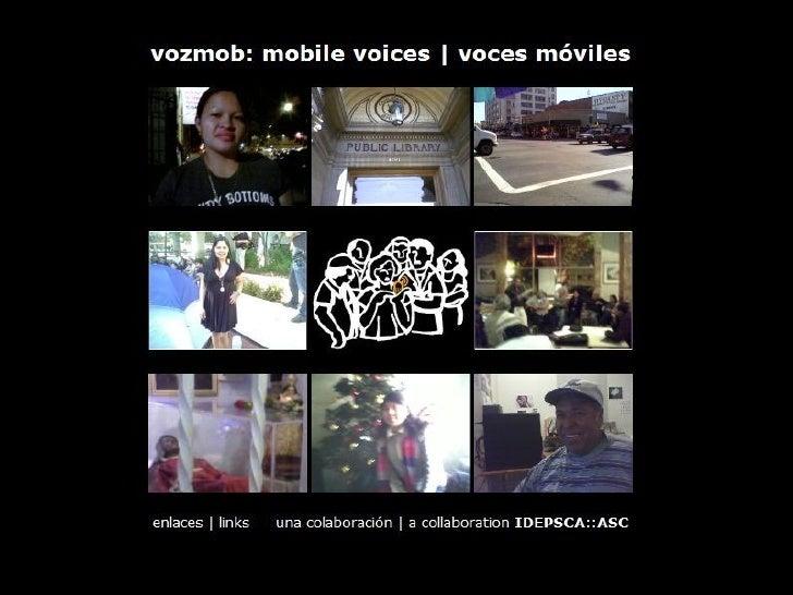 Vozmob march 6 2009