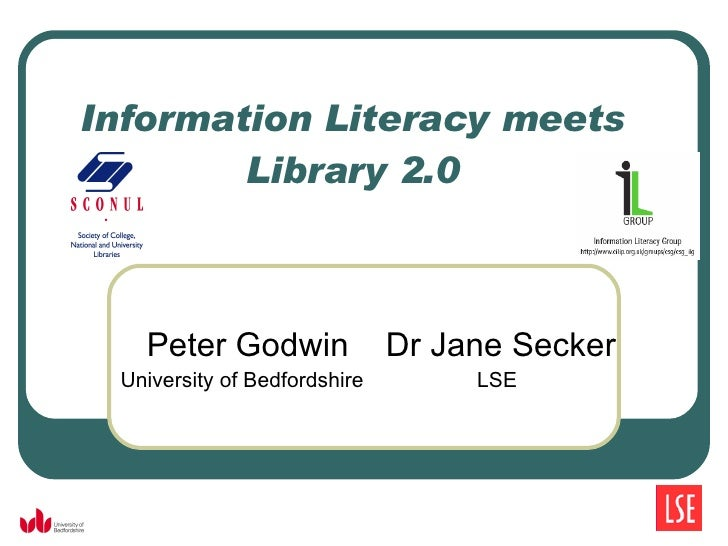 Information Literacy meets Library 2.0: introduction