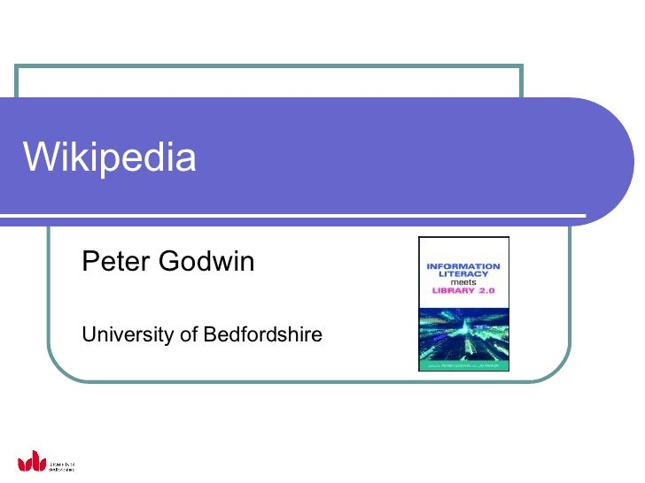 Wikipedia Peter Godwin University of Bedfordshire