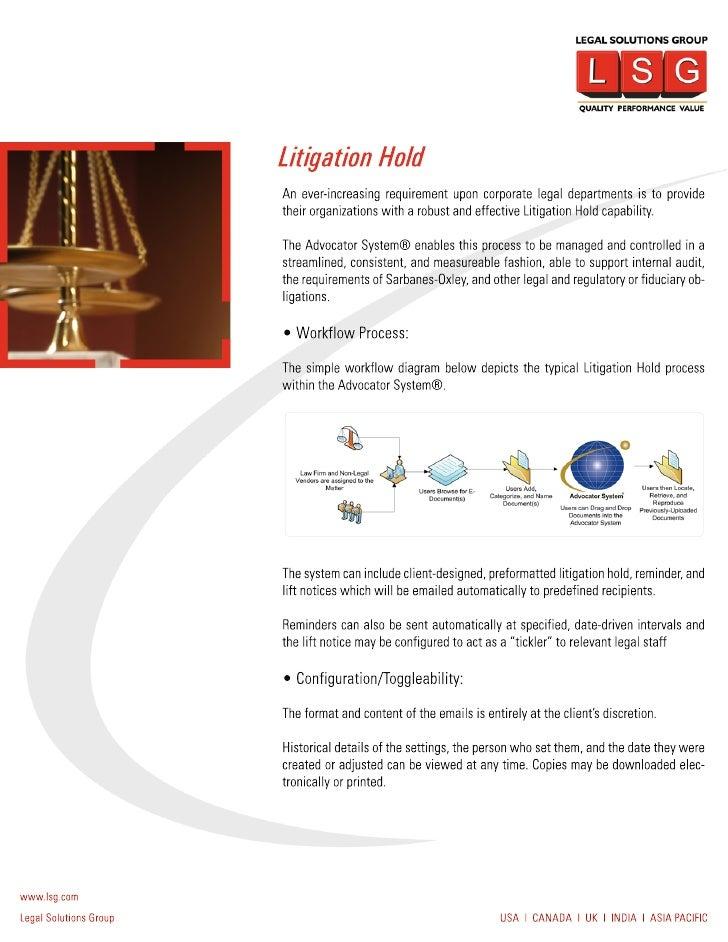 Litigation Hold