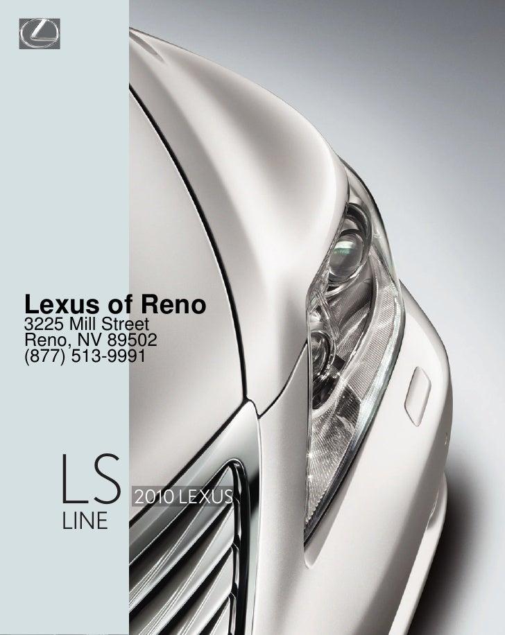 2010 Lexus LS Reno NV – Lexus of Reno