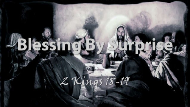 Ls lords supper 2 kings 18 19 slides 033014