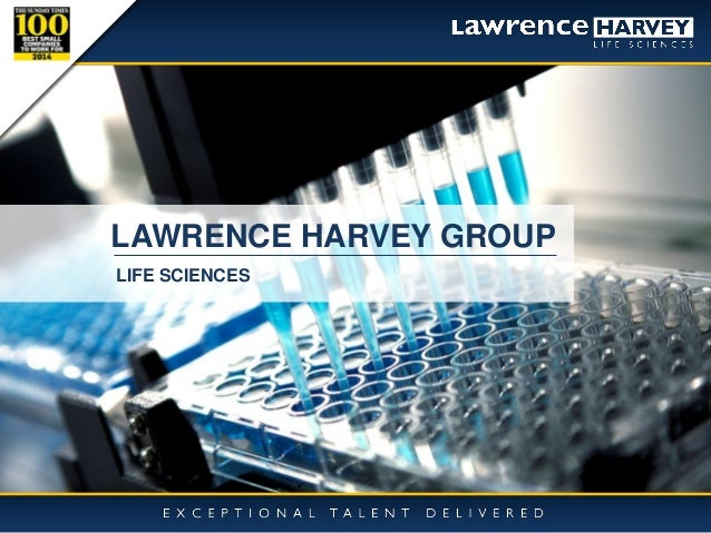 18/03/2015 1 LAWRENCE HARVEY GROUP LIFE SCIENCES