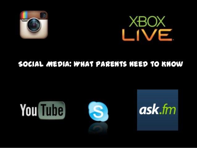 Social Media: What Parents Need to Know