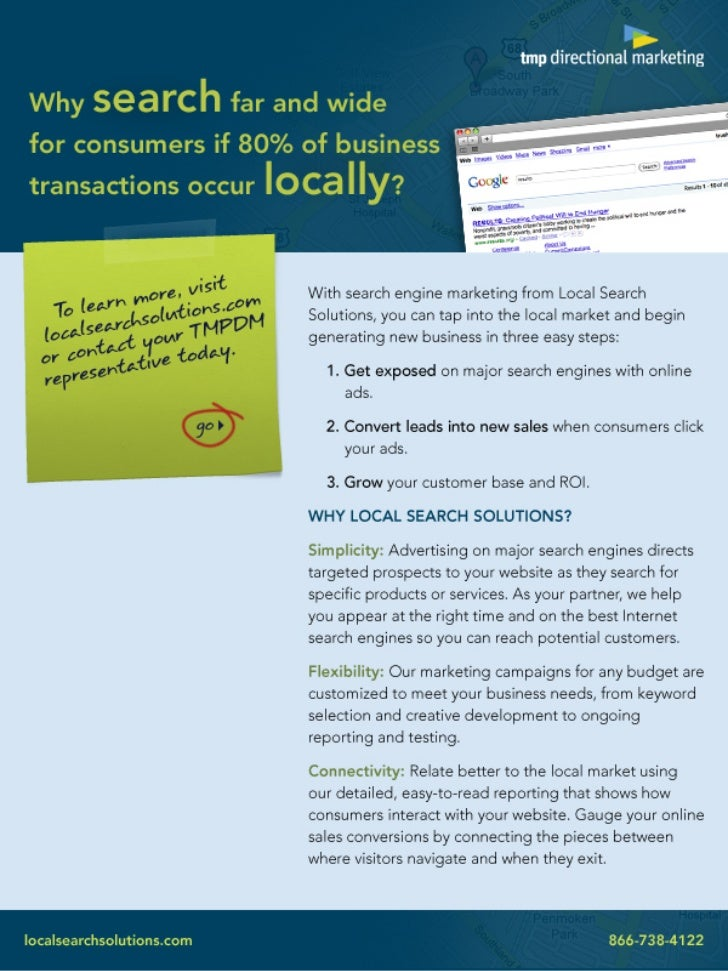 Promotional Email: Local Search Solutions