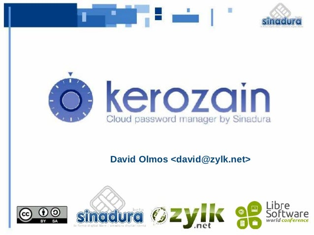 LSWC2012 kerozain cloud password manager