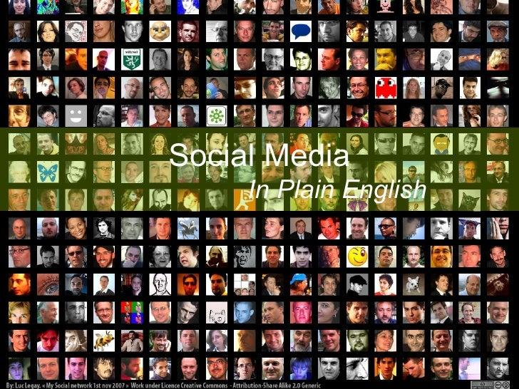 Social Media in Plain English