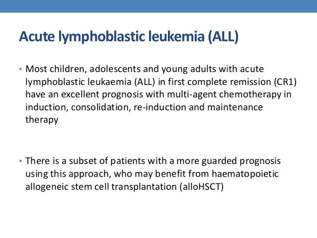 acute lymphoblastic leukemia in young adults