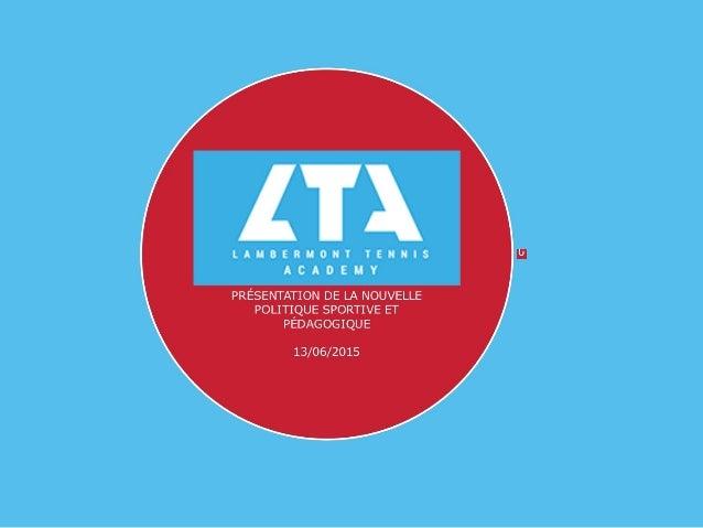 Lta Présentation 2015