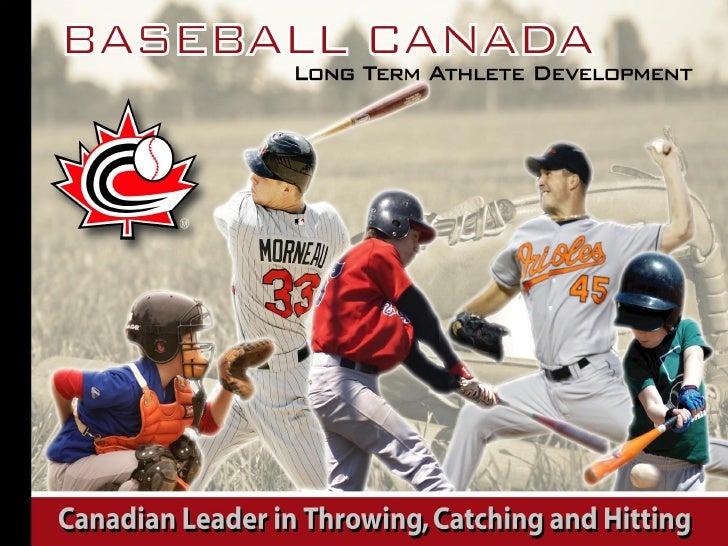 LTAD Update for Baseball BC Nov 2008