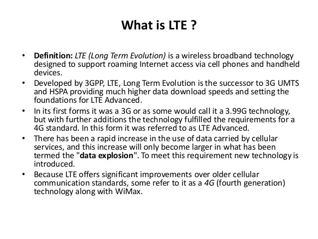 3g technology definition