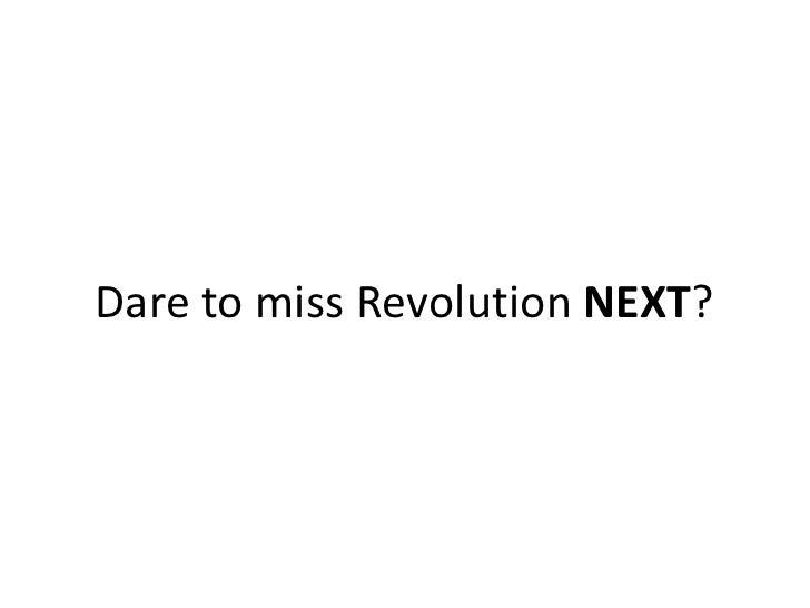 Ltech India  Dare To Miss The Revolution Next The Mobile Revolution