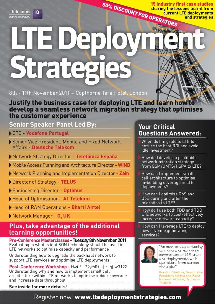 LTE Deployment Strategies