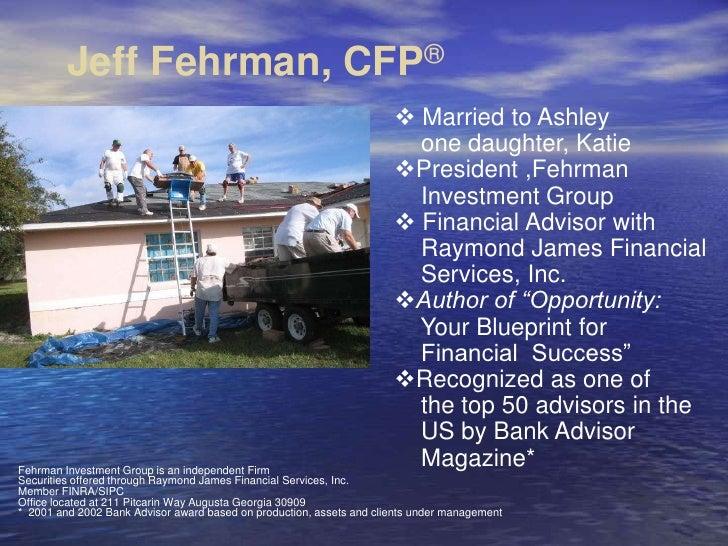 Jeff Fehrman - Financial Leadership