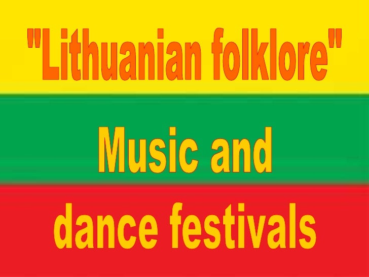 Songs of the majority of Lithuanian folk music. Voice tone expresses the deepest human emotions. Lithuanian folk songs are...
