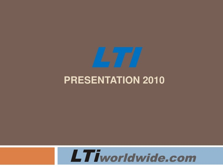 LTi interactive products