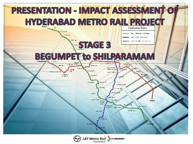 L & T Metro Rail Impact Assessment Study - Stage 3