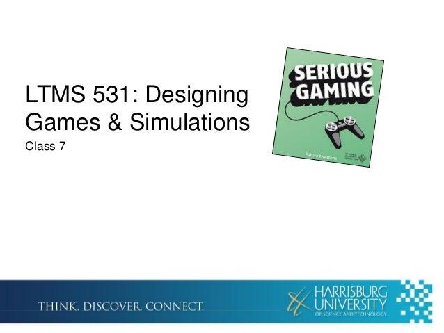 LTMS 531 Week 7: Play Time