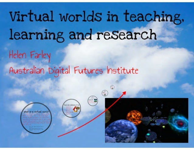 Virtual worlds in learning, teaching and research