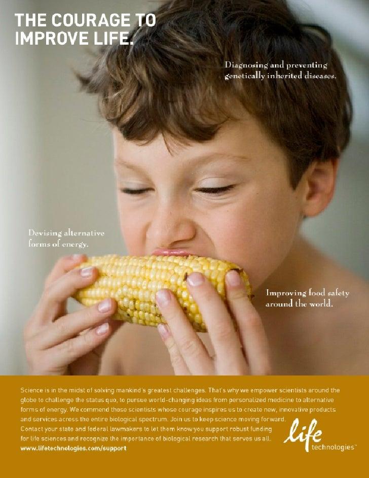 Life Technologies Ad Campaign