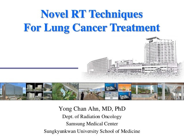 Novel RT techniques for treating lung cancer 1403