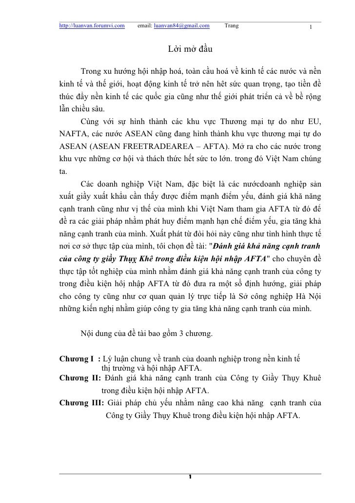 http://luanvan.forumvi.com   email: luanvan84@gmail.com   Trang           1                                        Lời mở ...