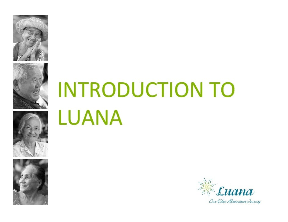 Introduction to Luana