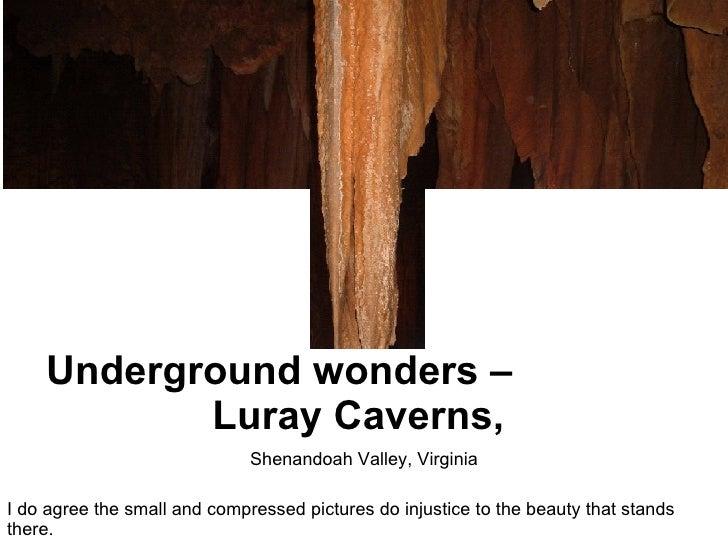 Luary Caverns, Shenandoah