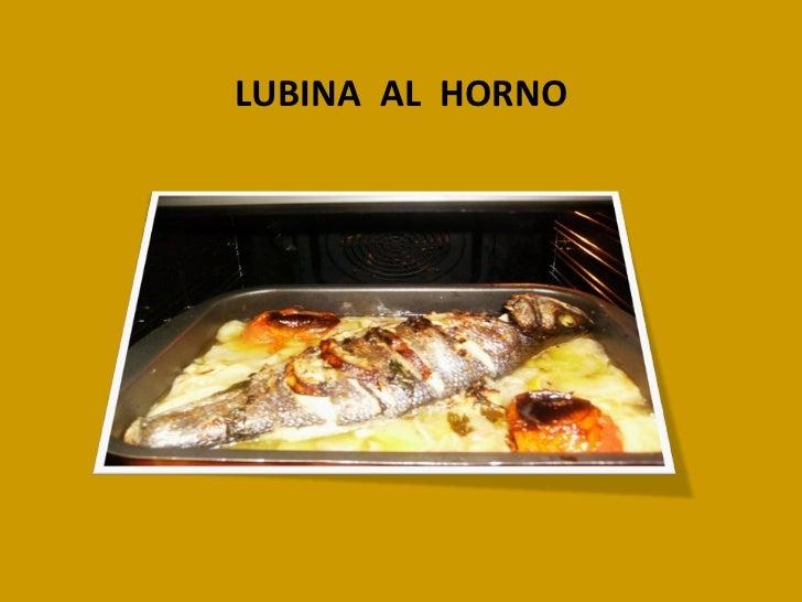 LUBINA  AL  HORNO