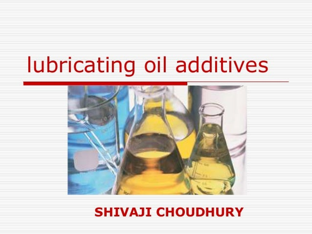 Lubricating Oil Additives