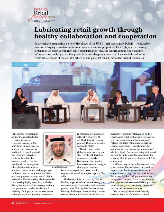 Lubricating retail growth through healthy collaboration and cooperation Public-private partnership is one of the pillars o...