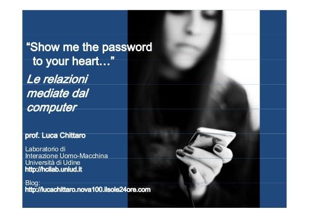 Intervento di Luca Chittaro a Venice Sessions 6