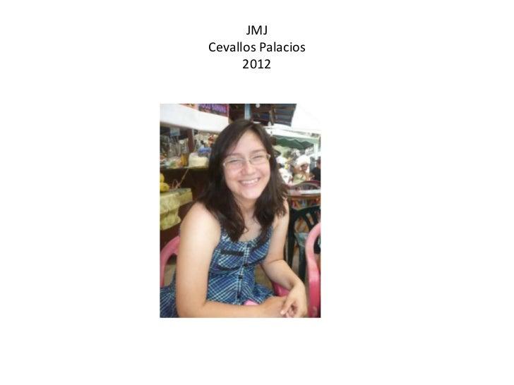 JMJCevallos Palacios      2012