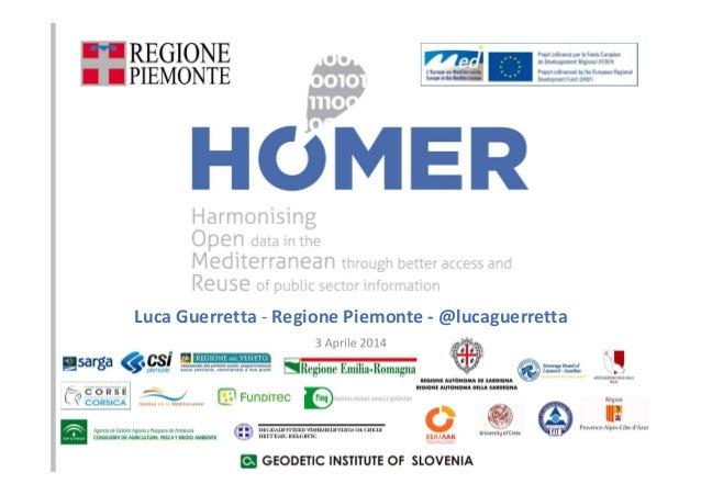 Luca Guerretta - Regione Piemonte - @lucaguerretta 3 Aprile 2014