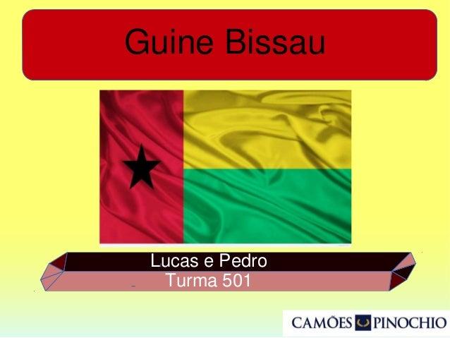 Guine Bissau Lucas e Pedro Turma 501