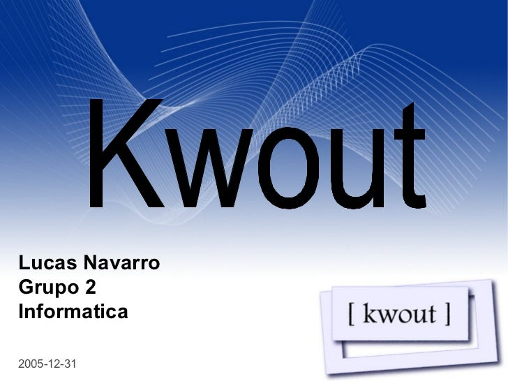 Lucas NavarroGrupo 2Informatica                   Your Name                                Your Title                Your ...
