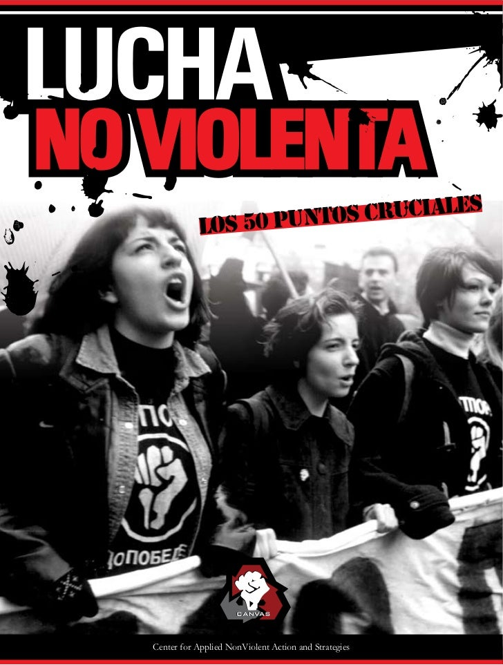 IALES           LOS 50 PUNTOS CRUC                     CANVASCenter for Applied NonViolent Action and Strategies