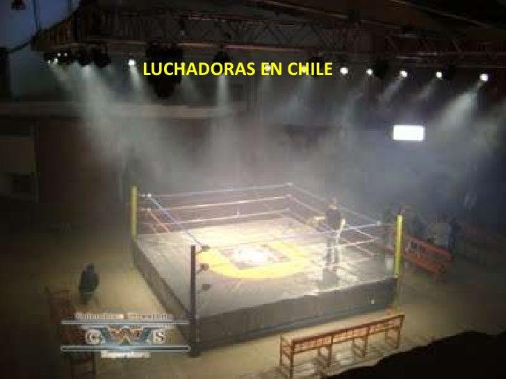 LUCHADORAS EN CHILE
