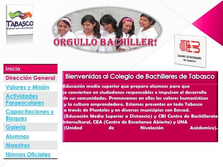 Colegio de Bachilleres de Tabasco
