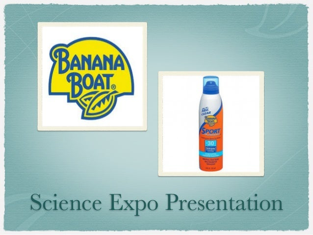 Science Expo Presentation