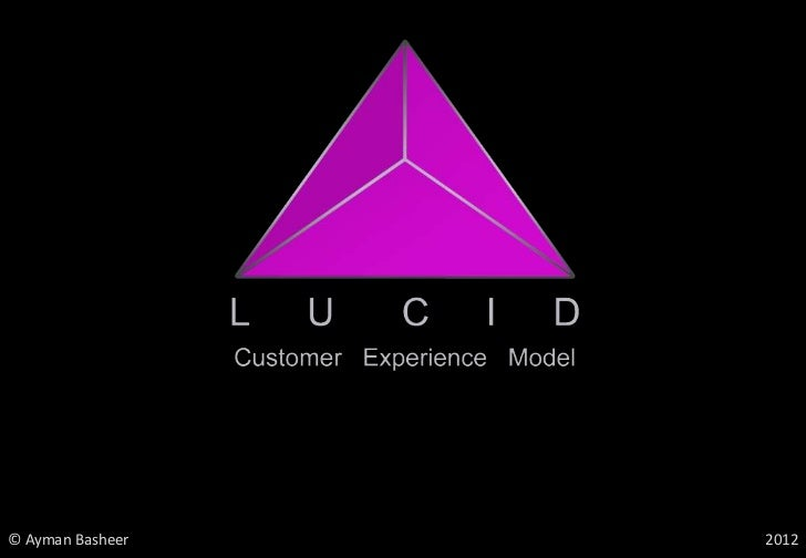 LUCID Customer Experience Design Model